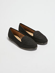 Suede-Look Women's Classic Shoes