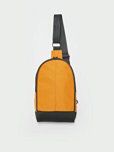 One Shoulder Strap Men's Back and Chest Bag