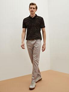 LCW VISION Slim Fit Kemerli Beş Cep Erkek Pantolon