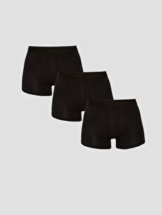 3-pack Stretch Fabric Standard Fit Boxers