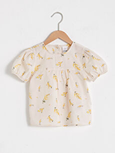 Baby Girl's Printed Blouse