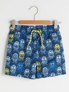 Printed Quick Drying Boy's Swim Shorts