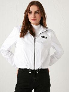 Lightweight Raincoat with Hood