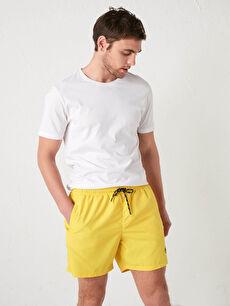 Basic Men's Short Swim Shorts