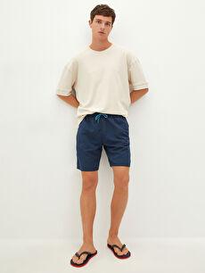 Basic Knee-Length Men's Swim Shorts