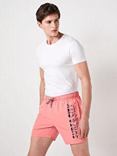 Men's Short Printed Swimwear