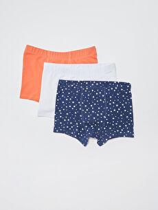 Комплект памучни боксерки за момче 3 бр