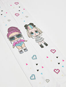 Lol Dolls Patterned Girl's Pantyhose