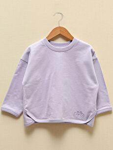 LCW GREEN Erkek Bebek Organik Pamuklu Sweatshirt