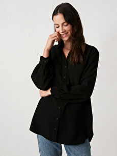 LCW CASUAL Pocket Detailed Viscose Tunic