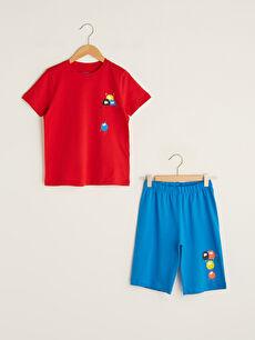 оранжев Комплект пижама