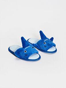 Erkek Çocuk 3D Köpekbalığı Ev Terliği
