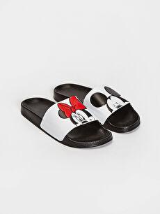 Minnie Mouse ve Mickey Mouse Lisanslı Terlik