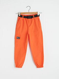 Elastic Waist Girl Jogger Trousers