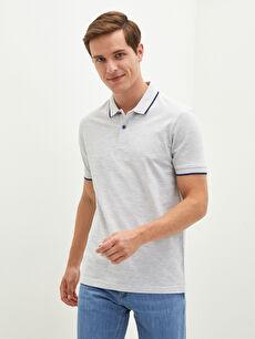 LCW BASIC Polo Yaka Kısa Kollu Pike Erkek Tişört