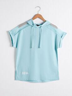 Aktif Spor Kapüşonlu Tişört