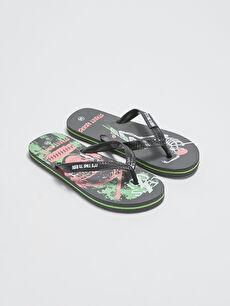 черно Плажни чехли