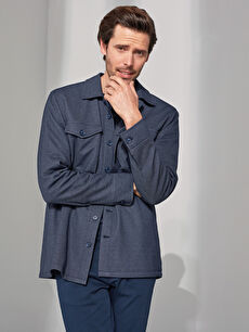 LCW CLASSIC Casual Fit Men's Shirt Jacket