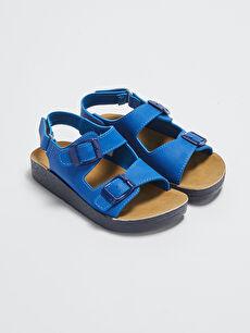 Çift Bantlı Erkek Çocuk Sandalet