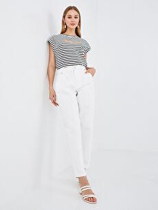 LCW VISION Yüksek Bel Slim Fit Kadın Jean Pantolon