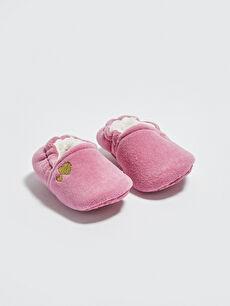 Kız Bebek Yürüme Öncesi Ev Ayakkabısı