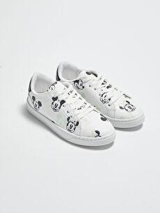 Minnie Mouse Lisanslı Kadın Spor Ayakkabı