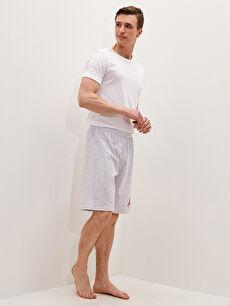 Standart Kalıp Roller Erkek Pijama Alt Şort