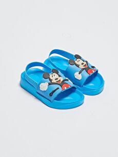 Mickey Mouse Lisanslı Erkek Bebek Plaj Terliği