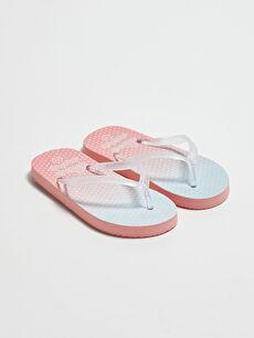 многоцветен Плажни чехли
