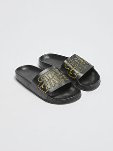 Star Wars Licensed Single Band Boy Slippers