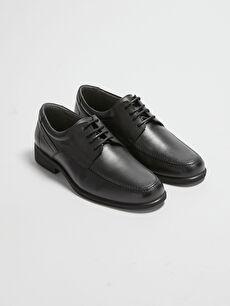 Hakiki Deri Bağcıklı Erkek Klasik Ayakkabı