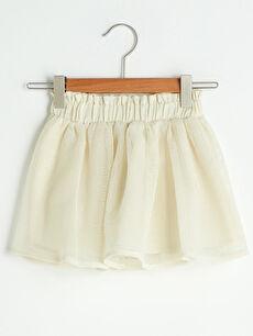 Elastic Waist Baby Girl Skirt