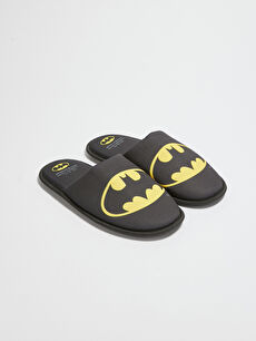 Batman Lisanslı Erkek Ev Terliği