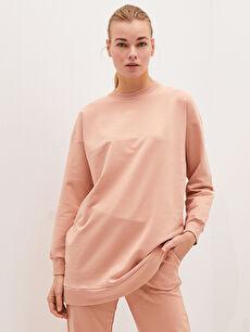 MODEST Crew Neck Printed Long Sleeve Women's Tunic