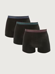Standard Pattern Flexible Fabric Men's Boxer 3 Pieces