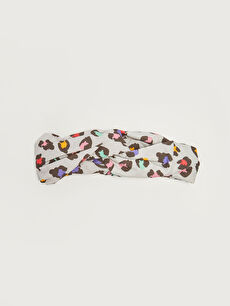Patterned Cotton Baby Girl Headband
