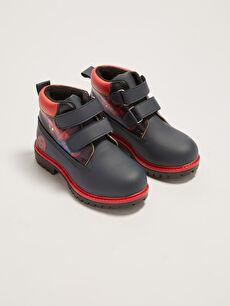 Spiderman Licensed Velcro Boys Boots