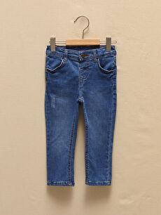 Skinny Fit Basic Erkek Bebek Jean Pantolon