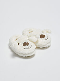Baby Boy Embroidered Home Slippers