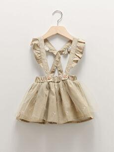 Elastic Waist Printed Baby Girl Skirt