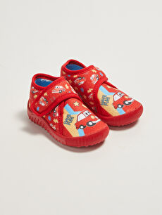 Printed Velcro Slippers for Boys