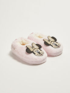 Minnie Mouse Licensed Baby Girl Slippers