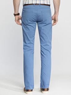 %98 Pamuk %2 Elastan %100 Poliüretan Normal Bel Pantolon Pilesiz Dar İndigo Normal Bel Dar Pilesiz Pantolon