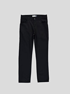 Siyah Siyah Normal LCW Young Pantolon 6Y3933Z6 LC Waikiki