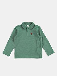 Yeşil Düz Normal Polo Tişört