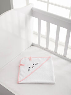Kız Bebek Desenli Havlu