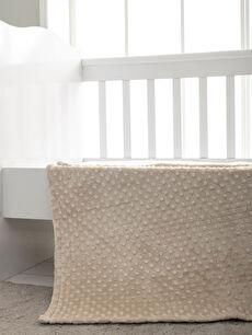 Erkek Bebek Pelüş Battaniye