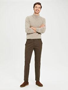 Normal Kalıp Chino Gabardin Chino Pantolon