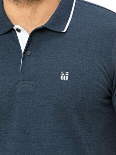 %62 Pamuk %38 Polyester Polo Yaka Kısa Kollu Pike Tişört