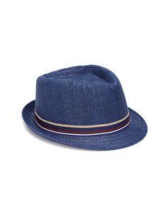 Bant Detaylı Fötr Şapka
